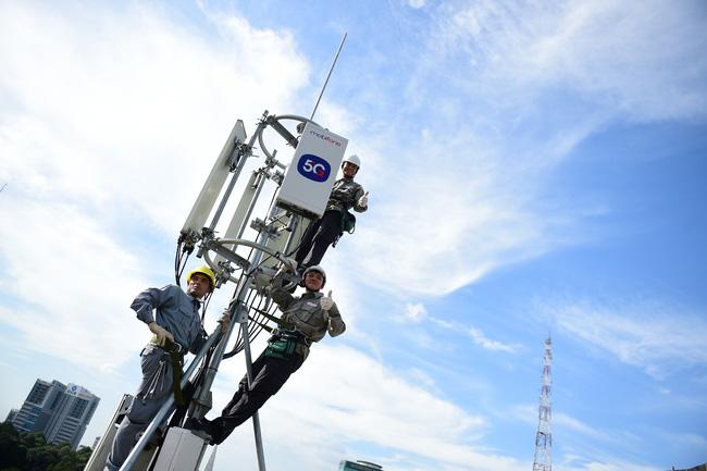 Thử nghiệm mạng 5G của MobiFone đạt tốc độ 600-800 Mbps - ảnh 1