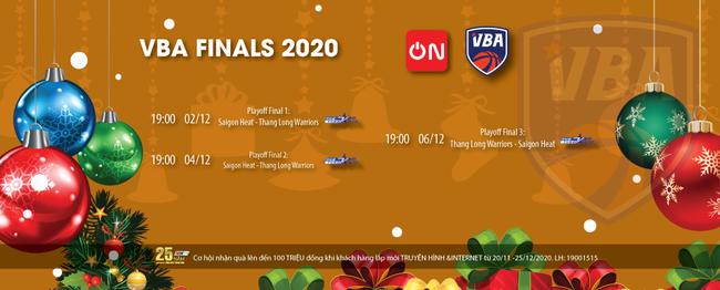 Xem trực tiếp series Chung kết VBA Finals 2020 trên VTVcab - ảnh 2