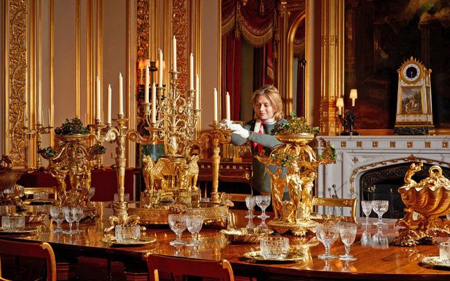 Chiêm ngưỡng Giáng sinh hoa lệ tại lâu đài Windsor, hoàng gia Anh - ảnh 5