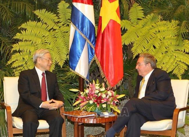 Điện mừng nhân kỷ niệm 60 năm quan hệ ngoại giao Việt Nam - Cuba   VTV.VN