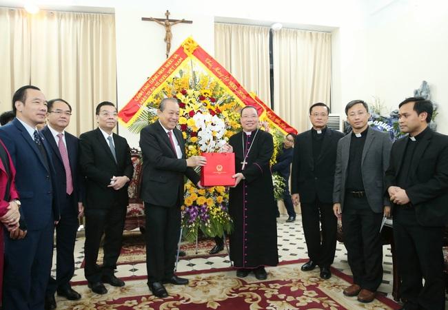 Phó Thủ tướng Trương Hòa Bình chúc Giáng sinh đồng bào Công giáo - ảnh 2