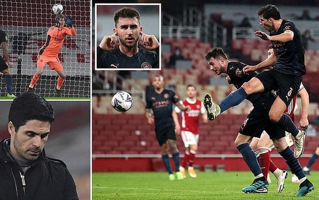 Xem lại bóng đá Arsenal vs Man City, League Cup (23/12)