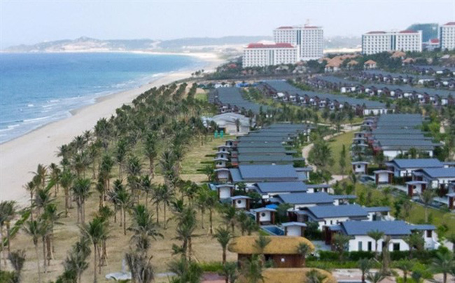 Bai Dai Beach in Cam Ranh City is being developed into a high-class tourist and resort area in the southern province of Khanh Hoa. (Photo: VNA)