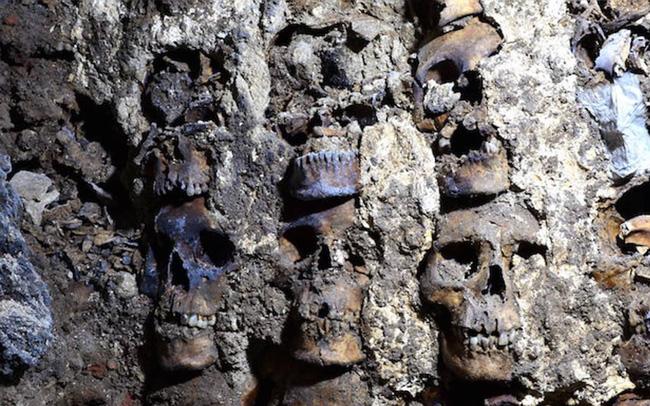 Bí mật rợn người ở tháp đầu lâu Aztec tại Mexico - ảnh 5