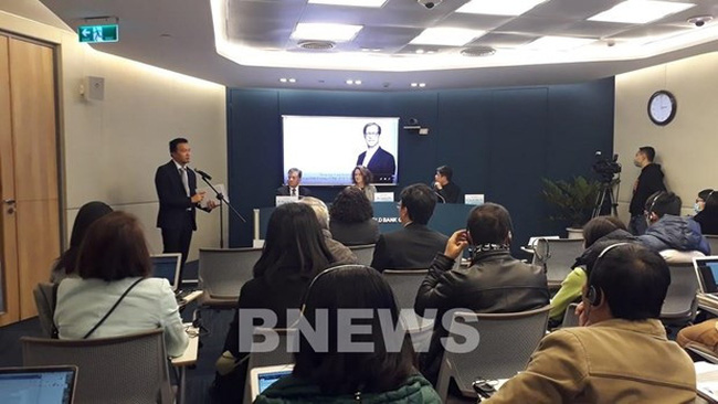 "World Bank's economic update for Vietnam ""Taking Stock"" was released on December 21. (Photo: VNA)"