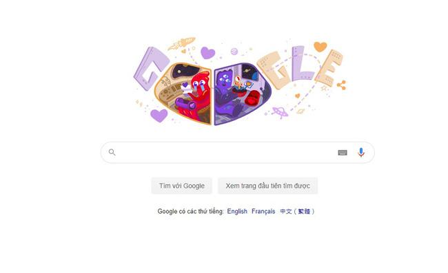 Google kỷ niệm ngày lễ tình nhân năm Valentine 2020 - ảnh 3