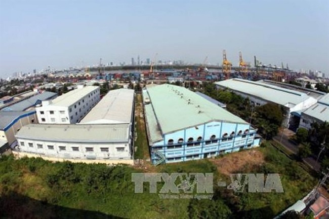 The Tan Thuan Export Processing Zone in HCM City's District 7. (Photo: VNA)