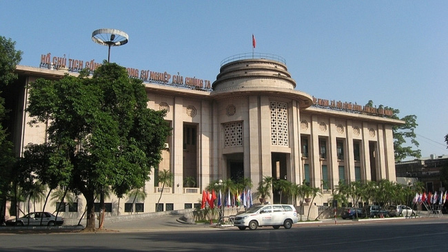 The headquarters of the State Bank of Vietnam