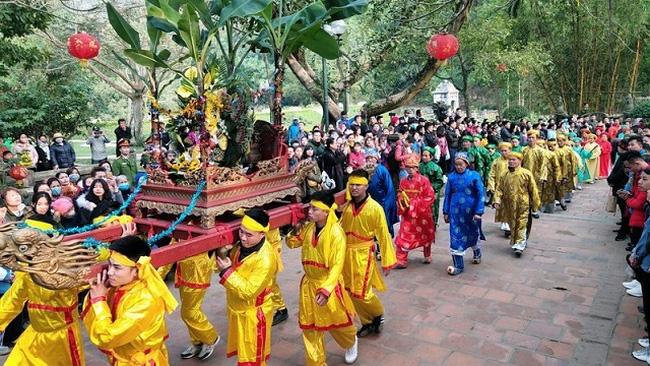 A procession at Soc Temple Festival (Photo: VOV)