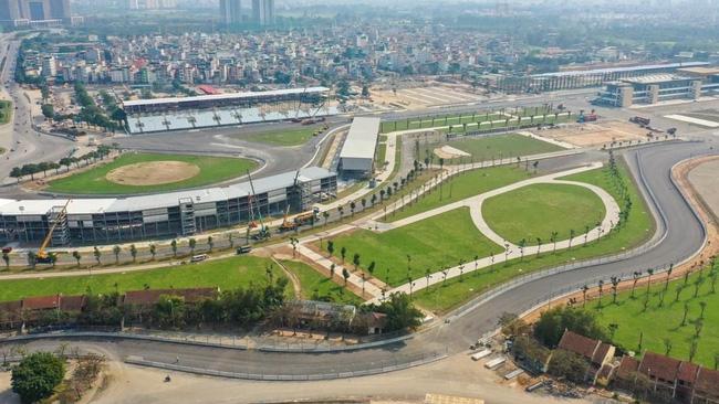 The F1 circuit in Hanoi (Photo: VNA)