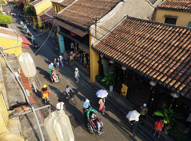 A Hoi An street (Source: VNA)