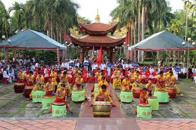 Commemoration of Hung Kings, the legendary founders of Vietnam (Photo: VNA)