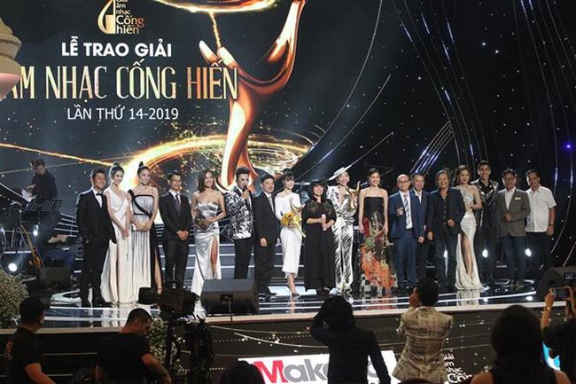 At the award ceremony in 2019 (Photo: VNA)