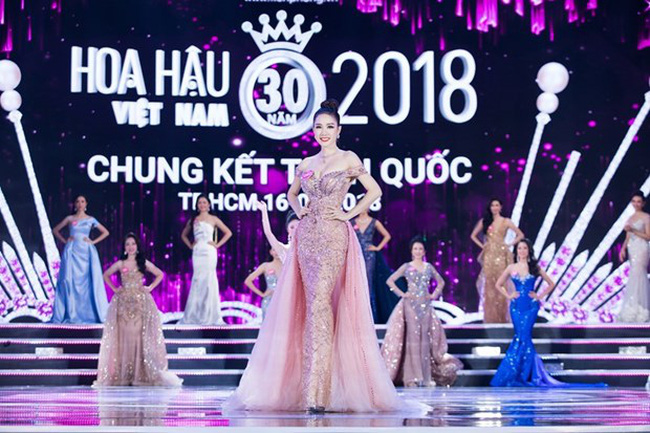 The finale of Miss Vietnam 2018 in Ho Chi Minh City (Photo: VNA)
