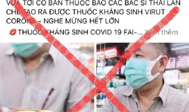 Bị phạt 10 triệu đồng vì rao bán thuốc kháng sinh chống COVID-19 - ảnh 2