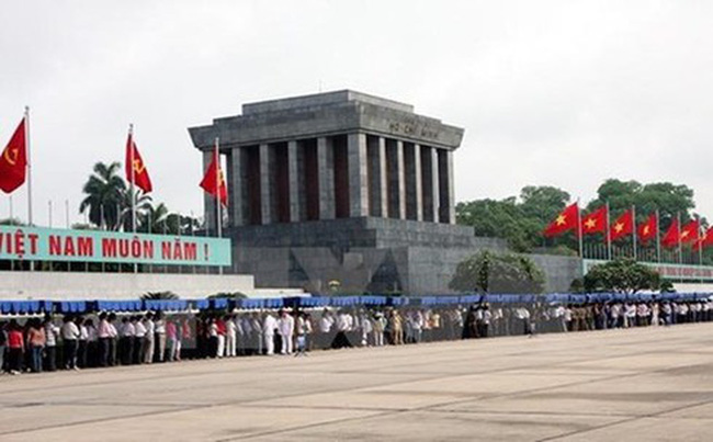 The Ho Chi Minh Mausoleum (Photo: VNA)