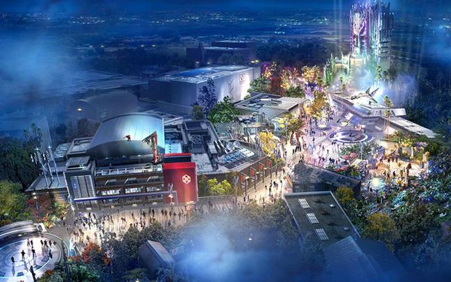 Đại dịch COVID-19, Disney tạm dừng xây dựng công viên Avengers - ảnh 5