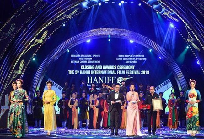 The scene of the 5th Hanoi International Film Festival in 2018