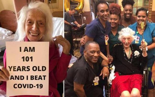 Cụ bà 101 tuổi chiến thắng ung thư và 2 đại dịch - ảnh 2