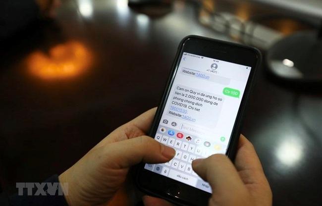 Hơn 126 tỷ đồng ủng hộ phòng chống COVID-19 qua cổng tin nhắn 1407 - ảnh 1