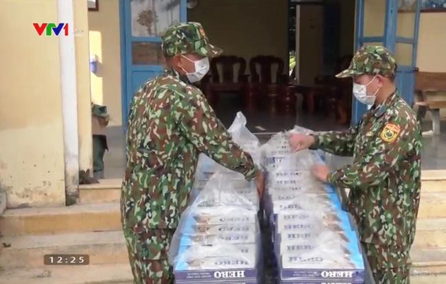 Thu giữ 15.000 gói thuốc lá lậu tại Kiên Giang - ảnh 1