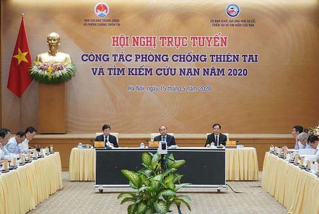 Thủ tướng Nguyễn Xuân Phúc: Việt Nam sẽ không đầu hàng bất cứ loại thiên tai nào - ảnh 1