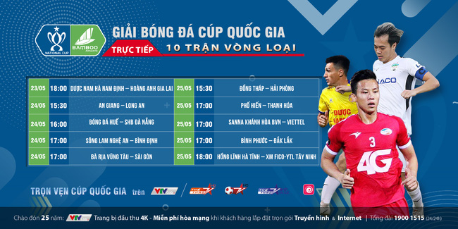 """Bóng đá Việt """"hồi sinh"""" trên VTVcab - ảnh 1"""
