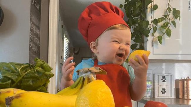 Đầu bếp 1 tuổi trở thành ngôi sao trên Instagram - ảnh 3