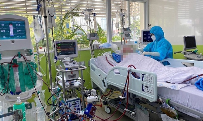 Patient No. 91 is being treated at Cho Ray Hospital in Ho Chi Minh City.