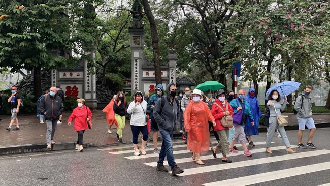 International visitors to Vietnam (Photo: baotintuc)