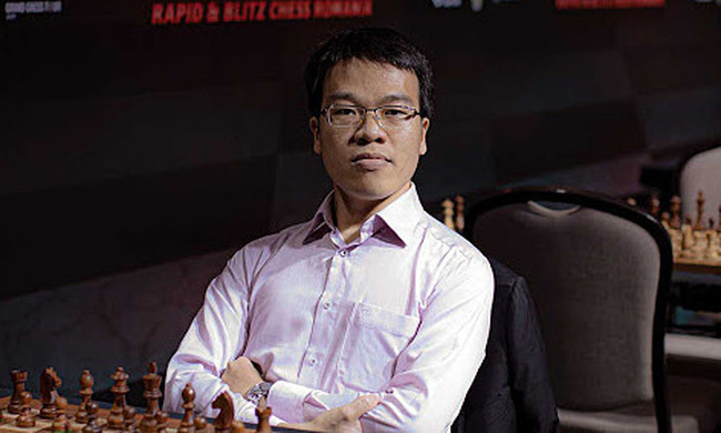 Top Vietnamese chess player Le Quang Liem.