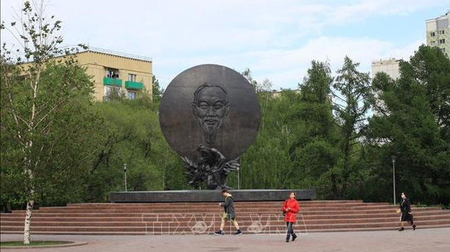 Ho Chi Minh Monument in Moscow: A symbol of Vietnam – Russia friendship (Photo: VNA)