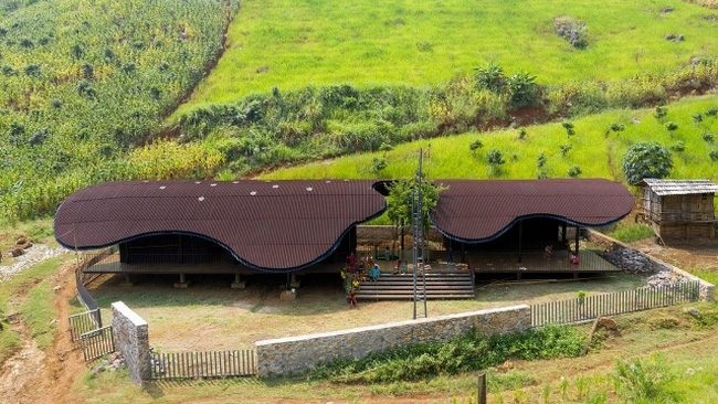 Vietnam's rural preschool listed in world's top 10 new architecture projects (Photo credit: Trieu Chien)