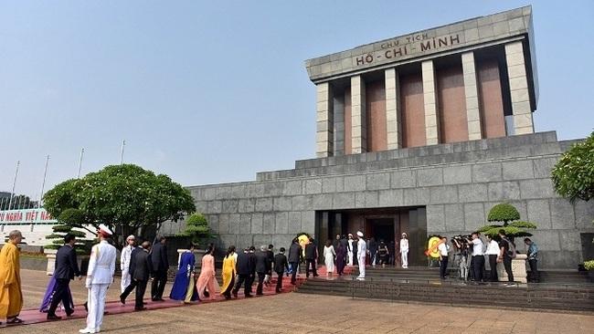 The President Ho Chi Minh Mausoleum. (Photo: NDO)