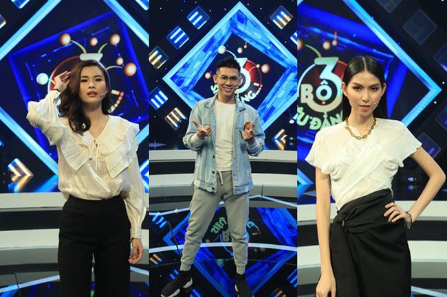 Đại Nhân đòi dằn mặt Cao Thiên Trang, Thùy Dương trên sóng truyền hình - ảnh 3