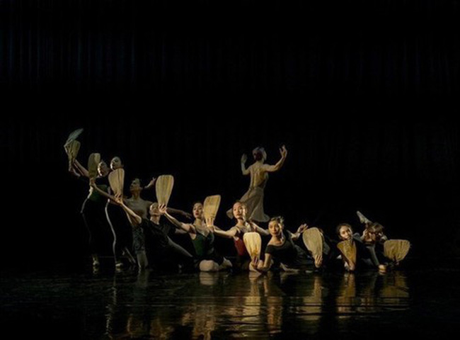Ballet Kieu attracts the participation of renowned artists and dancers (Photo courtesy of an artist)