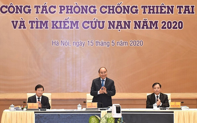 Prime Minister Nguyen Xuan Phuc speaks at the event. (Photo: NDO)