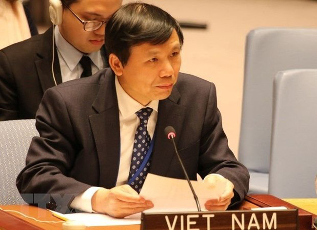 Ambassador Dang Dinh Quy, head of the Vietnam Permanent Mission to the United Nations.