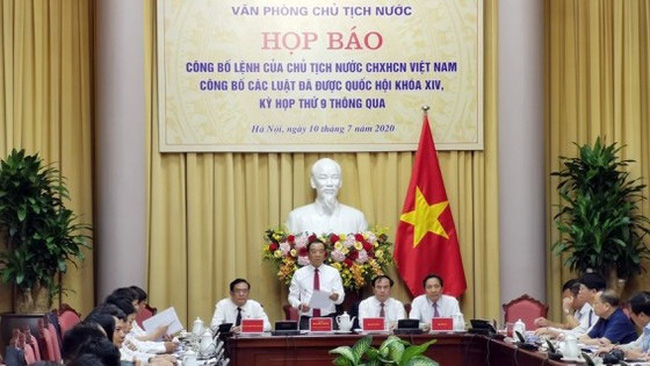 At the press conference (Photo: sggp.org.vn)