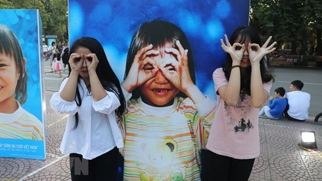Voices of Vietnamese children survey released (Photo: VNA)