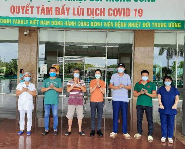 Five more patients are discharged from hospital on July 21