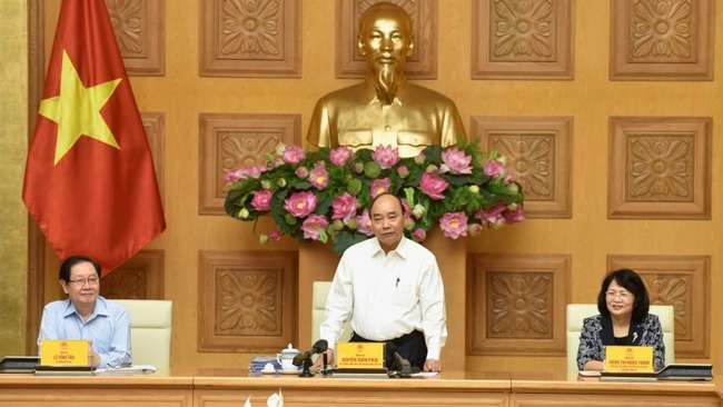 Prime Minister Nguyen Xuan Phuc at the conference