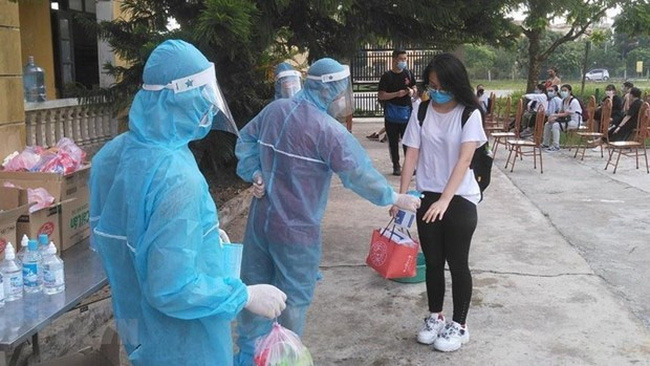 At a quarantine area in Ha Nam province (Photo: VNA)