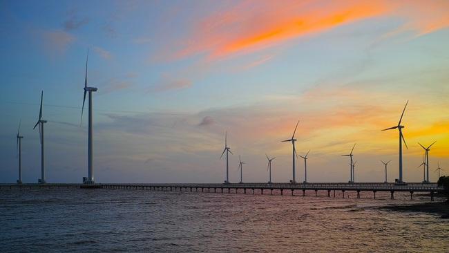 A wind farm in Bac Lieu Province
