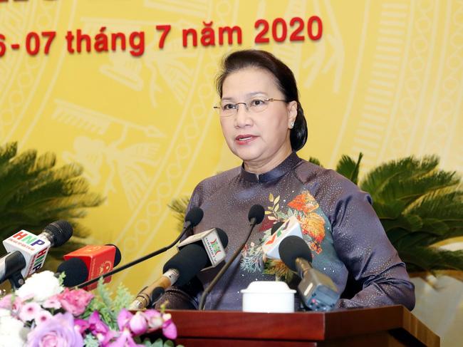 National Assembly Chairwoman Nguyen Thi Kim Ngan Photo: VNA