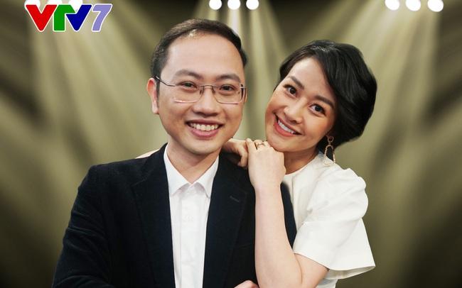MC Phí Linh lần đầu tiên công khai chồng trên sóng truyền hình - ảnh 3