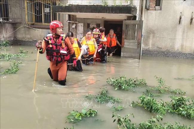 Tỉnh Tứ Xuyen Trung Quốc Nang Mức ứng Pho Lũ Khẩn Cấp Vtv Vn