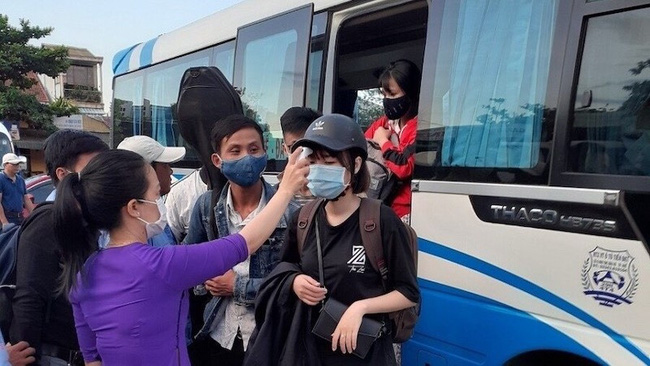 All passenger transport services in Da Nang suspended from midnight of July 28