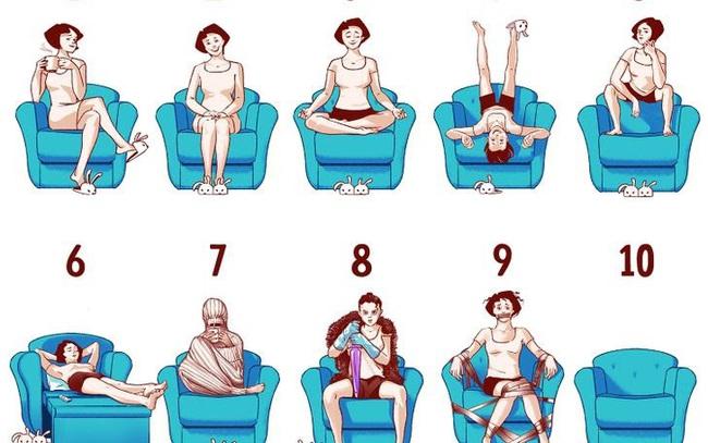 Đọc vị tính cách của bạn chỉ qua tư thế ngồi - ảnh 11