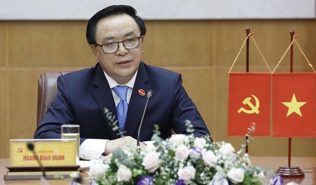 Head of the Communist Party of Vietnam (CPV) Central Committee's Commission for External Relations Hoang Binh Quan (Photo: VNA)